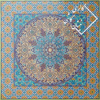 کاشی سنتی با نقوش ایرانی-تابلو کاشی
