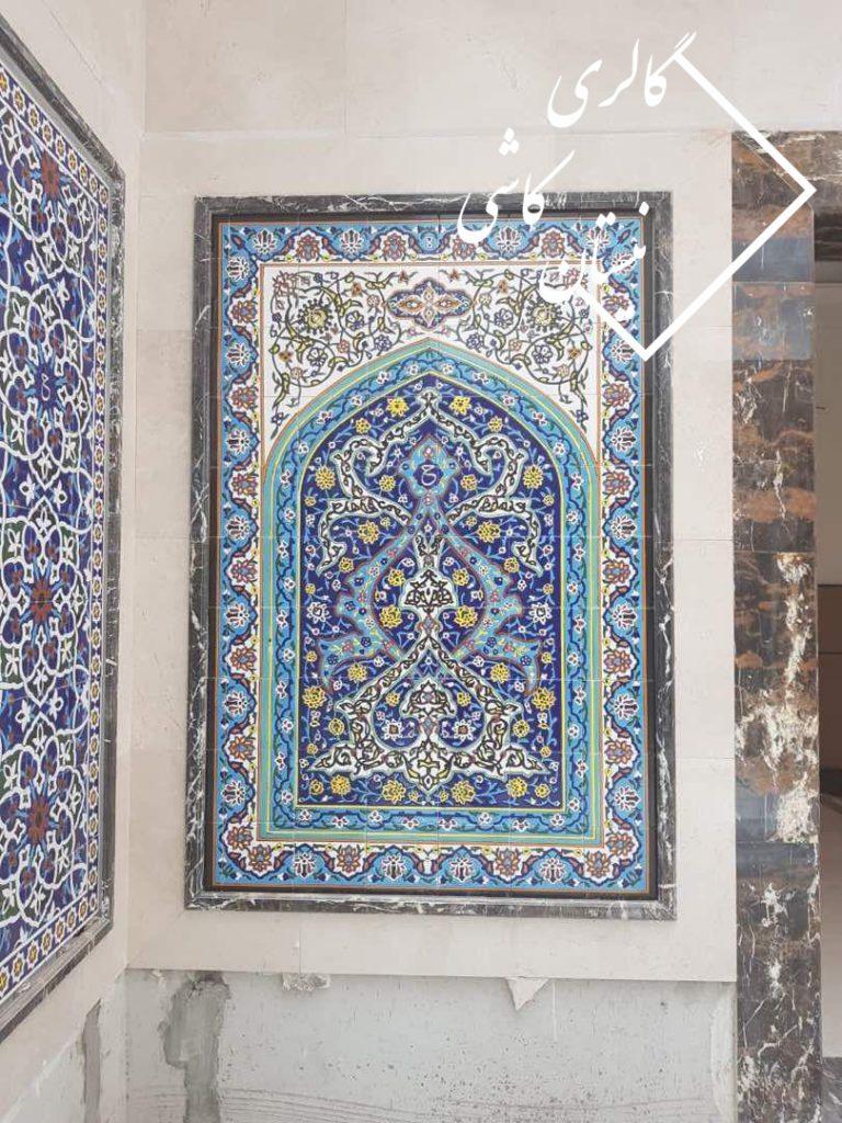تابلو کاشی سنتی هفت رنگی