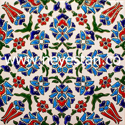 کاشی سنتی طرح ترکی
