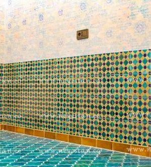 کاشی وخشت سنتی کف و دیوار